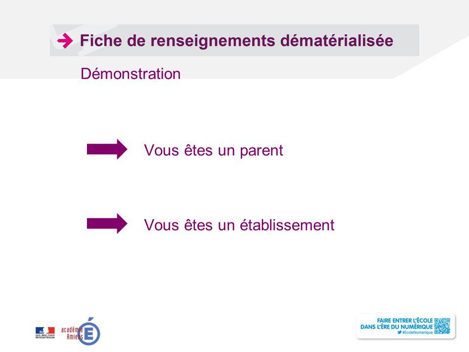 Titre de la présentation - Vendredi 12 juillet 2013 - Page ‹#› VOUS ETES UN PARENT Même si aucune modification, il faut confirmer la fiche de renseignements pour que l'inscription soit prise en compte