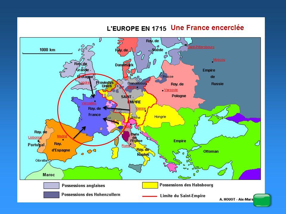 2° les empires coloniaux Les Etats possédant des colonies sont : (exercice p 17) Espagne Portugal Provinces Unies France Grande Bretagne En Amérique du nord, 3 puissances, la France, l'Espagne et la Grande Bretagne.