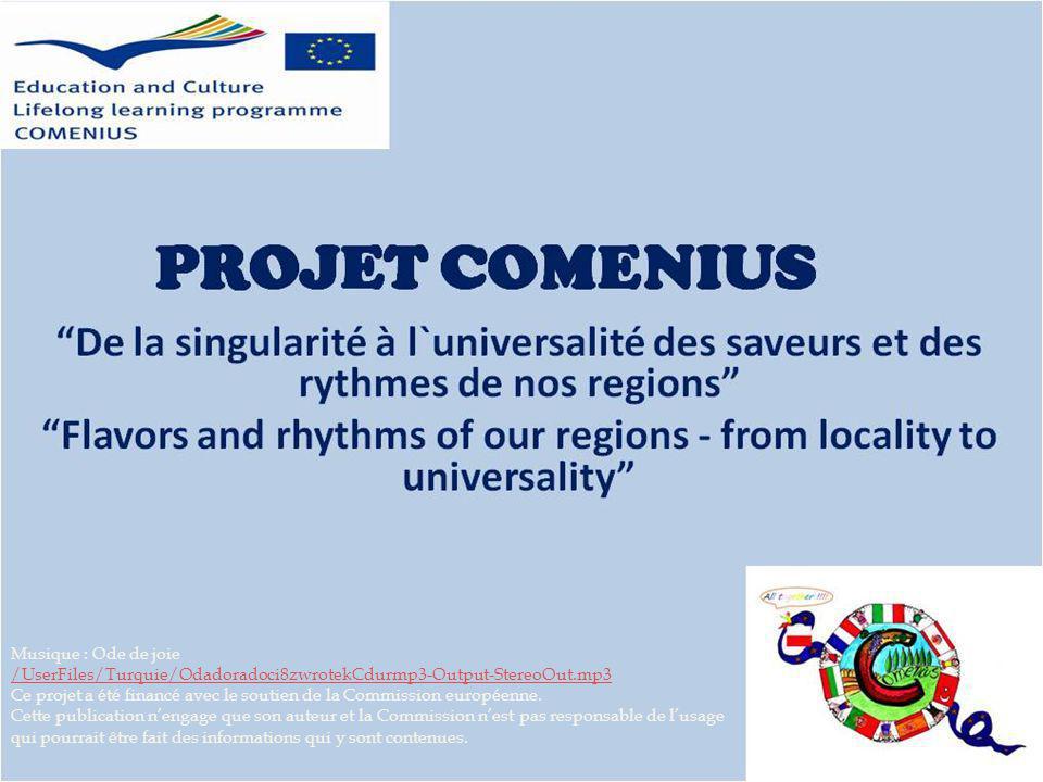 Musique : Ode de joie /UserFiles/Turquie/Odadoradoci8zwrotekCdurmp3-Output-StereoOut.mp3 Ce projet a été financé avec le soutien de la Commission européenne.