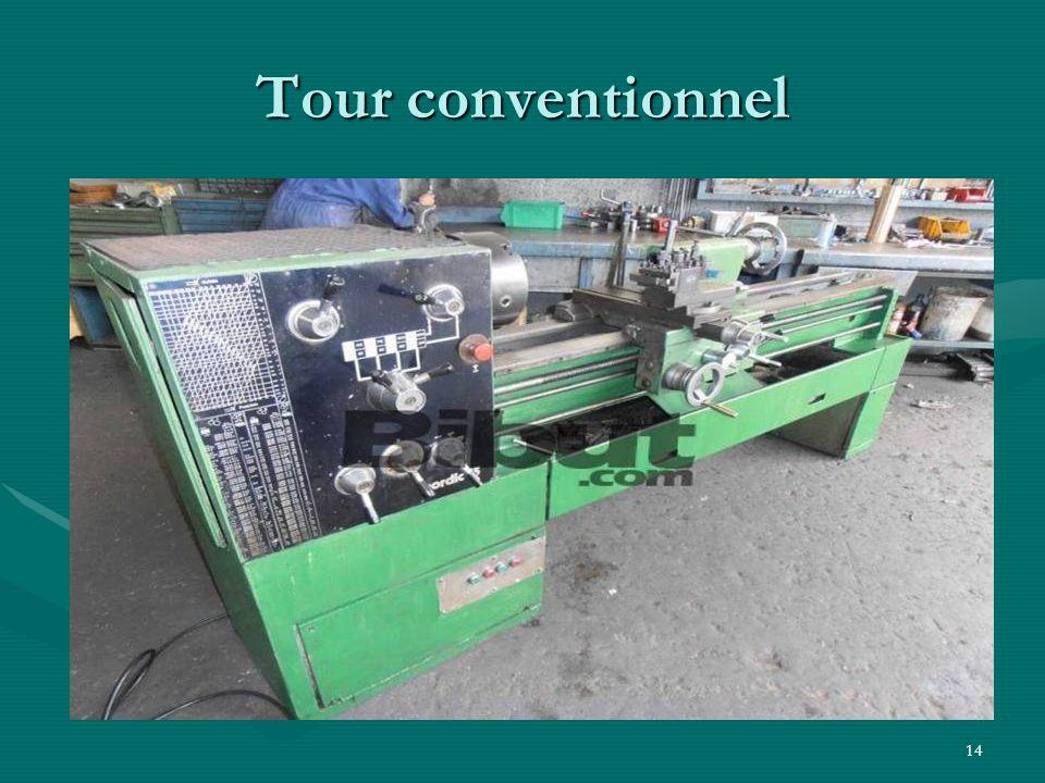 14 Tour conventionnel