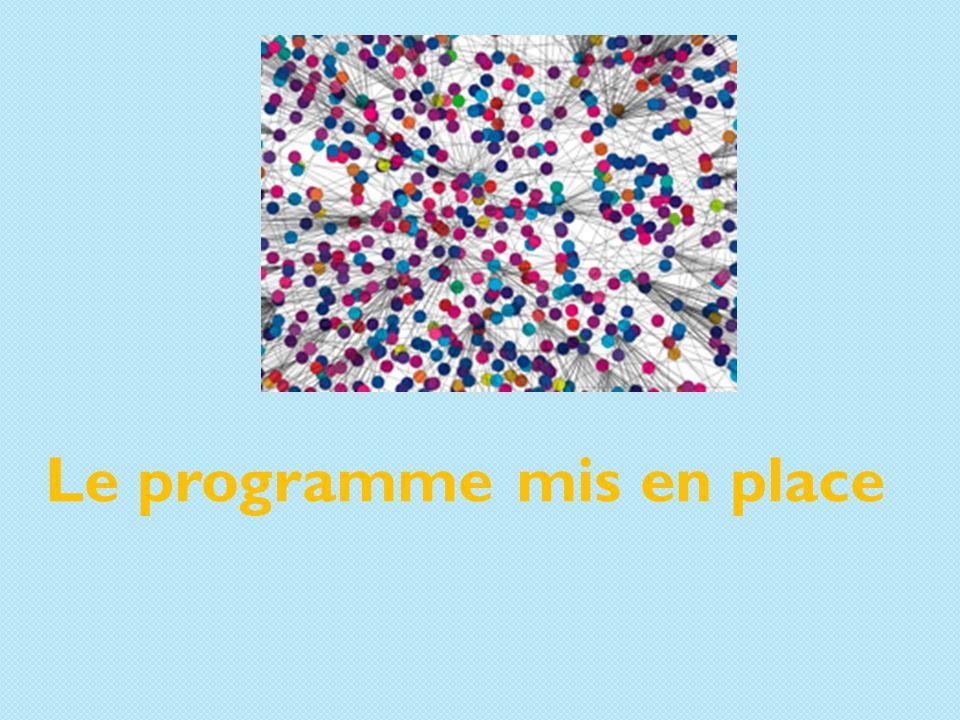 Le programme mis en place