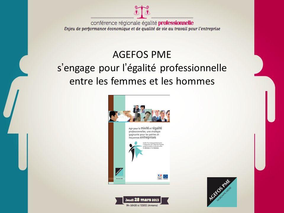 AGEFOS PME s'engage pour l'égalité professionnelle entre les femmes et les hommes