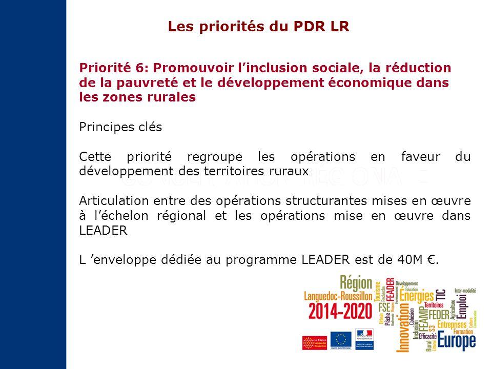 Sur le Programme de développement rural FEADER, elle se retrouve dans la priorité 6 via le programme LEADER Et la culture dans tout ça?