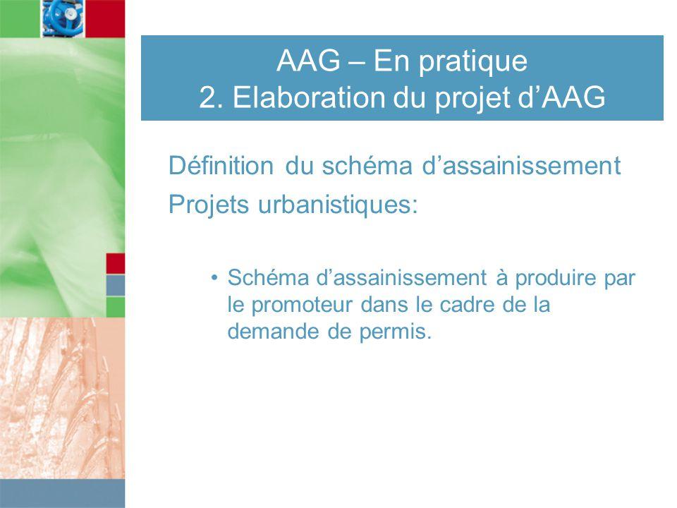 AAG – En pratique 2.