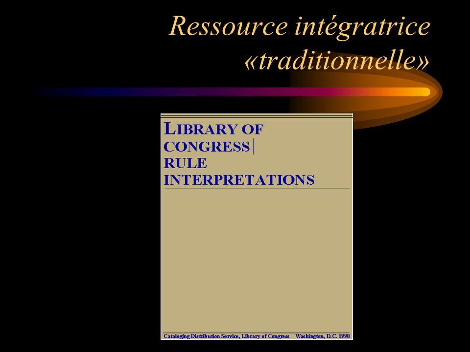 Ressource intégratrice Site Web maintenu à jour