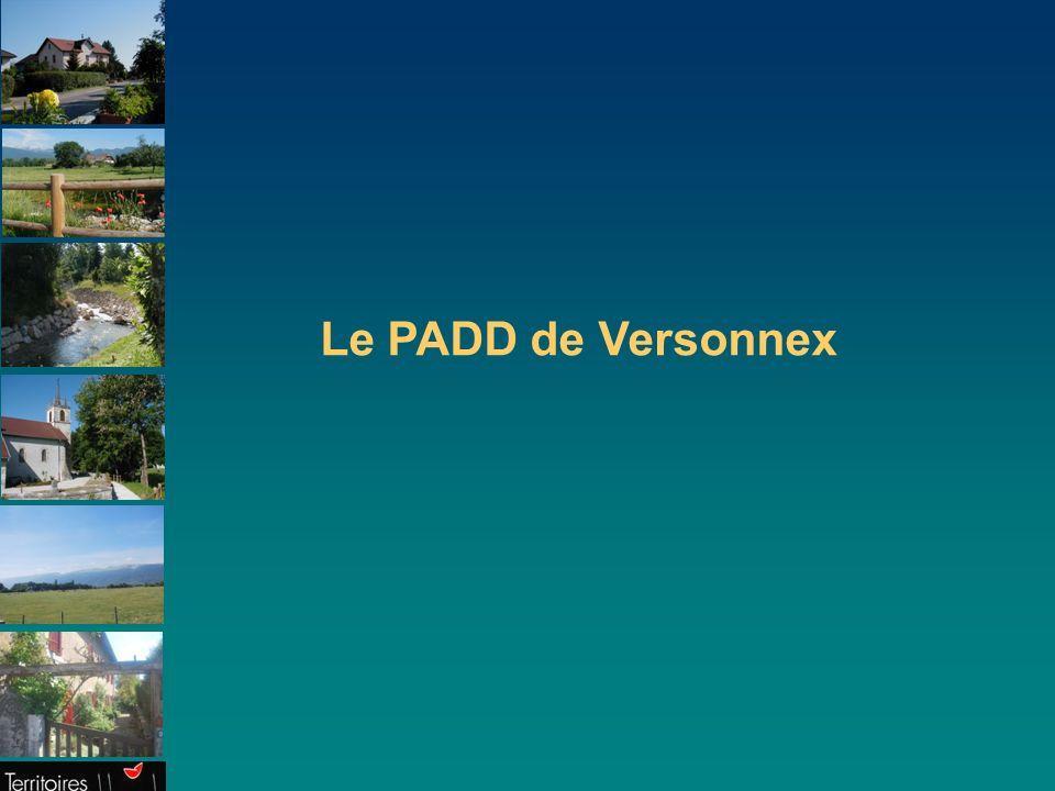 3 Introduction Versonnex doit donc, dans son intérêt, mettre en œuvre un développement plus maîtrisé et contribuer ainsi, à son échelle, et dans un cadre intercommunal renforcé, aux cinq finalités reconnues essentielles pour l avenir du territoire français et de la planète (1) : Finalité 1 : le changement climatique (lutte, adaptation) et la protection de l'atmosphère.