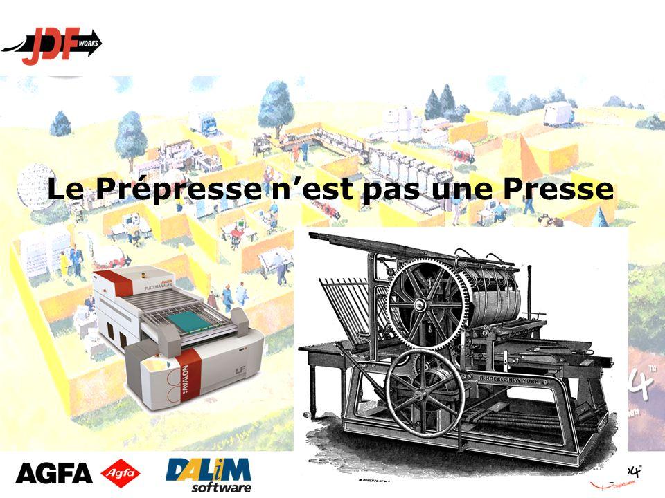 Le Prépresse n'est pas une Presse