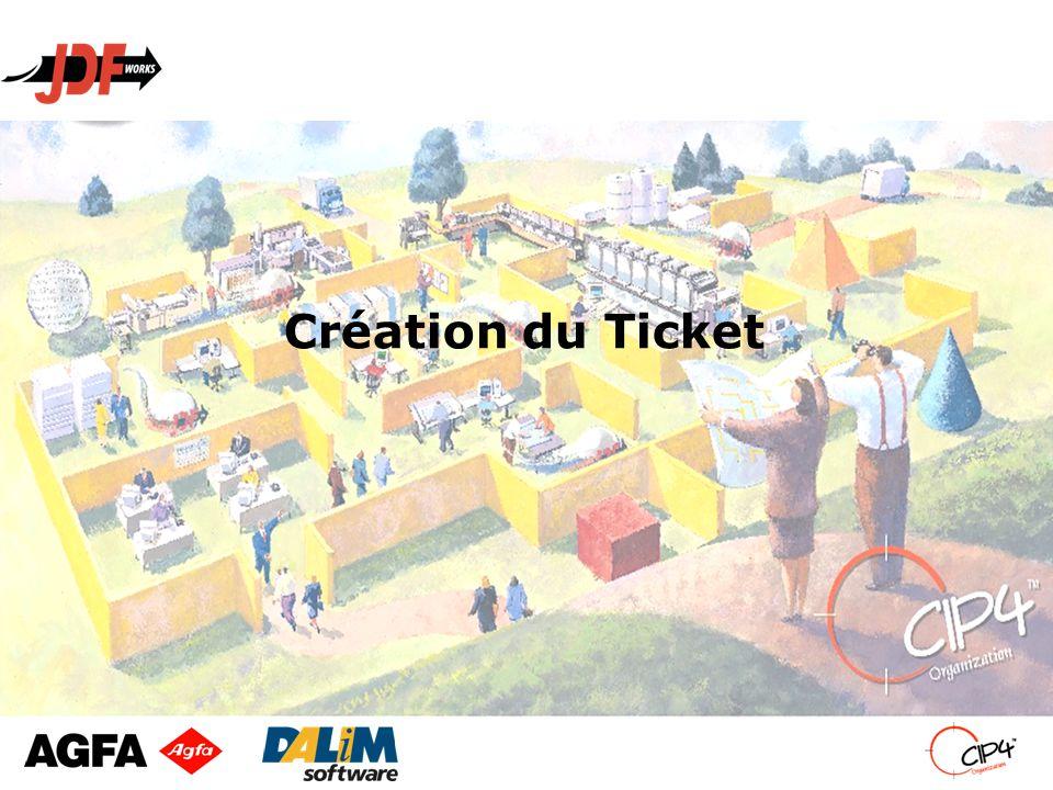 Création du Ticket