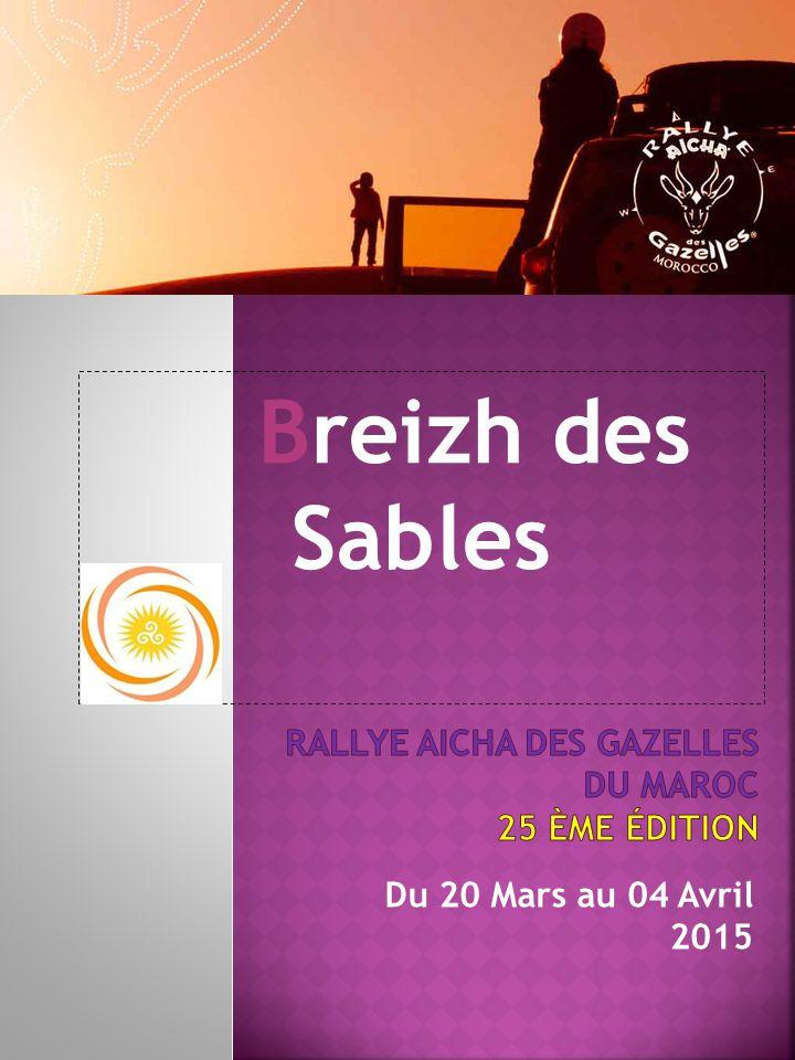 Breizh des Sables Du 20 Mars au 04 Avril 2015