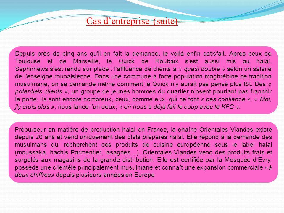 Précurseur en matière de production halal en France, la chaîne Orientales Viandes existe depuis 20 ans et vend uniquement des plats préparés halal. El
