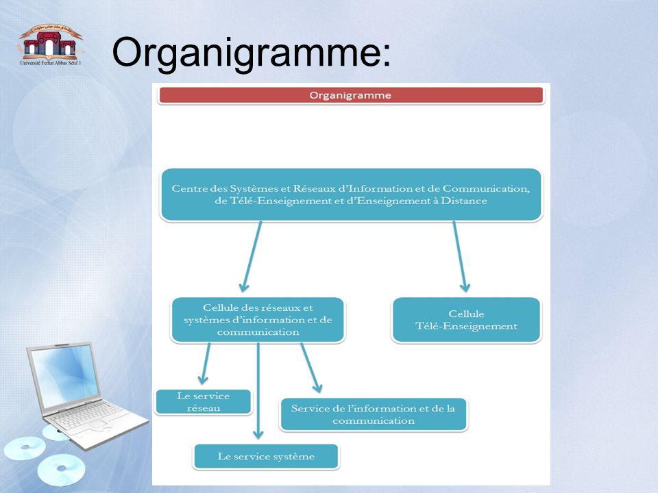 Organigramme: