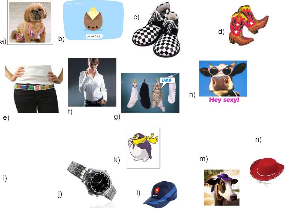 a) b) c) d) e) f) g) h) i) j) k) l) m) n)