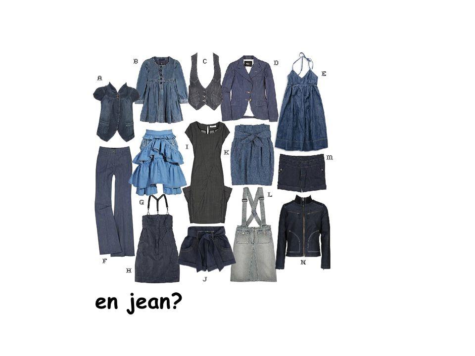 en jean?