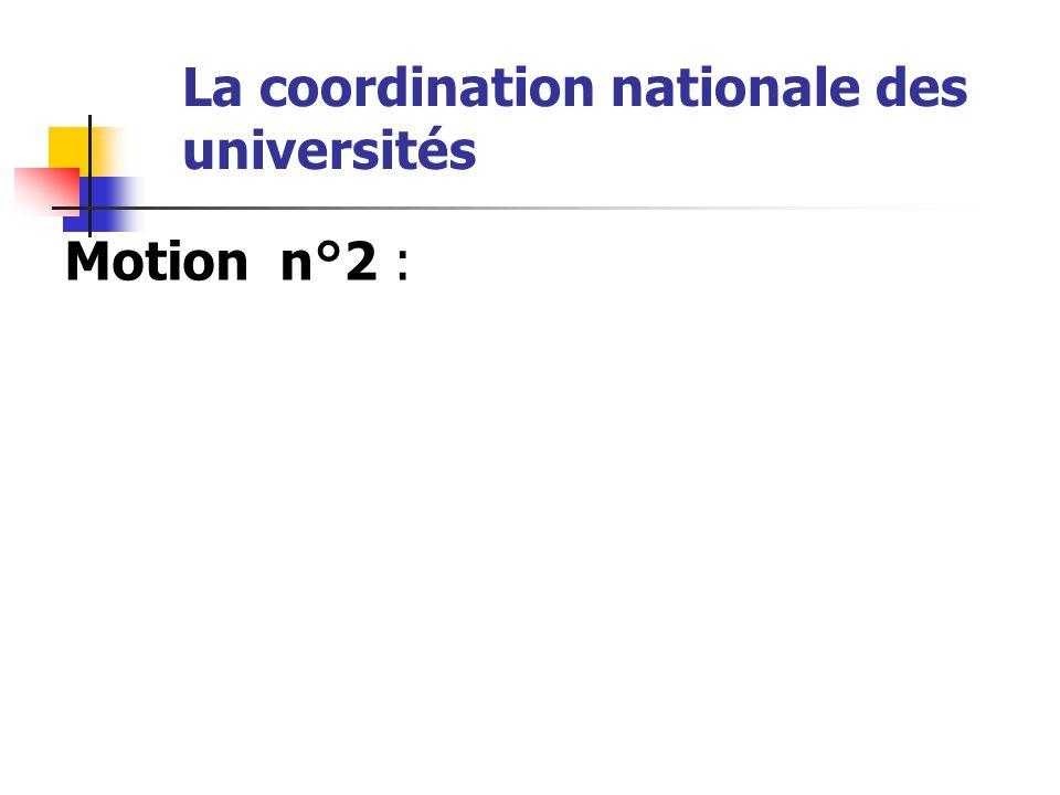 La coordination nationale des universités …/… l'université française se mettra en grève totale, reconductible et illimitée.