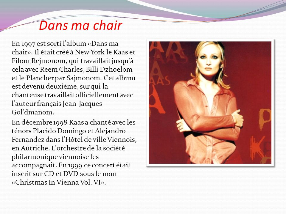 2009 marque le retour de Patricia Kaas sur le devant de la scène après une pause de 3 ans, avec un nouvel album, Kabaret, en hommage aux années 1930.