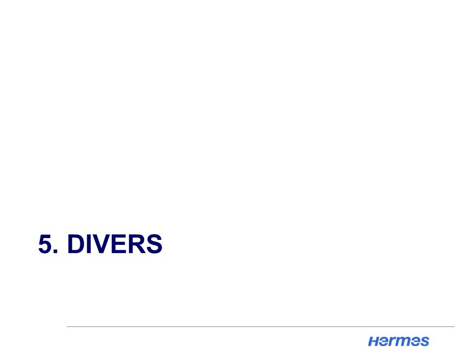 5. DIVERS