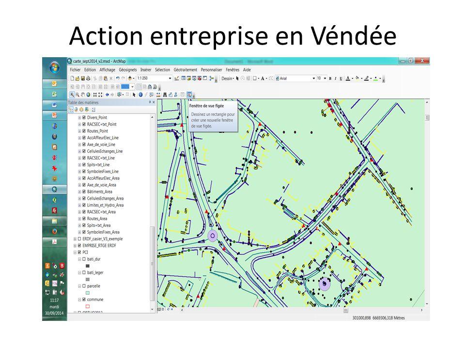 Action entreprise en Véndée