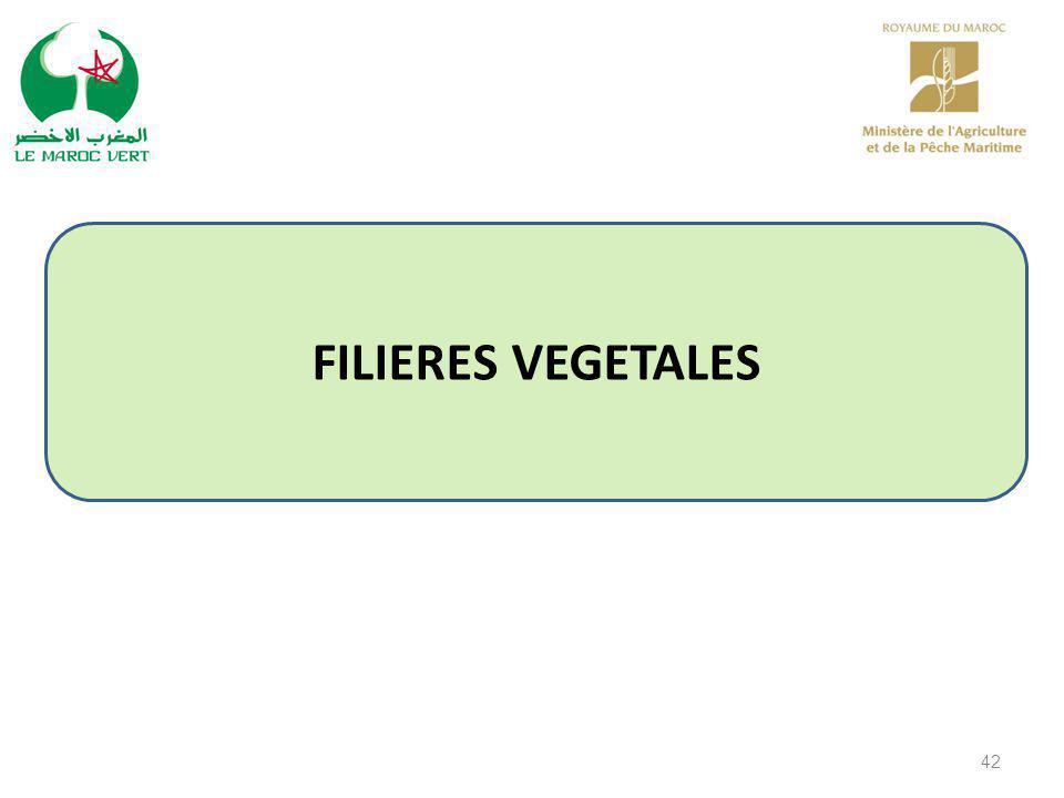 42 FILIERES VEGETALES