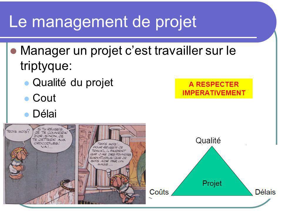 Etape 8: le suivi de projet Grace au planning prévisionnel, chaque acteur du projet connait le travail qu'il a à faire (quand commencer et quand finir chaque tache).