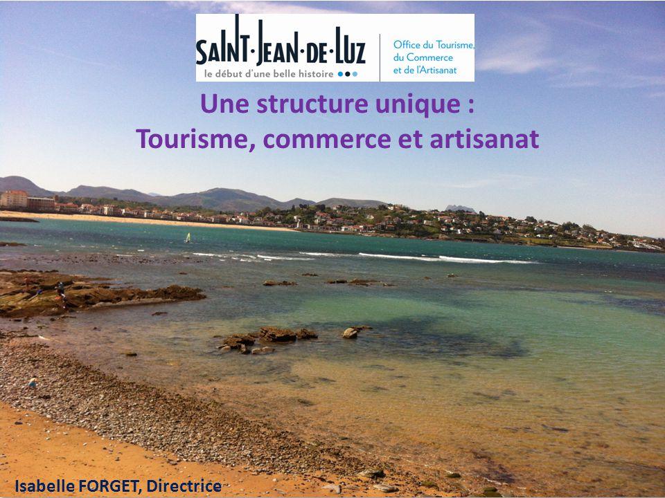 Une structure unique : Tourisme, commerce et artisanat Isabelle FORGET, Directrice