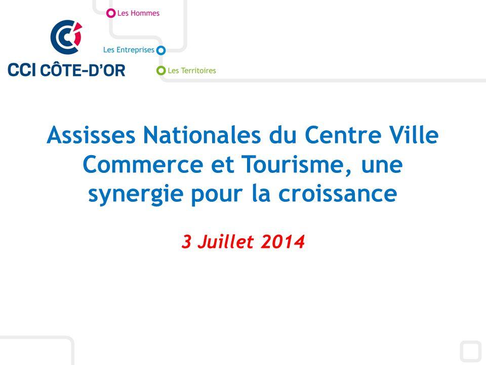 Assisses Nationales du Centre Ville Commerce et Tourisme, une synergie pour la croissance 3 Juillet 2014