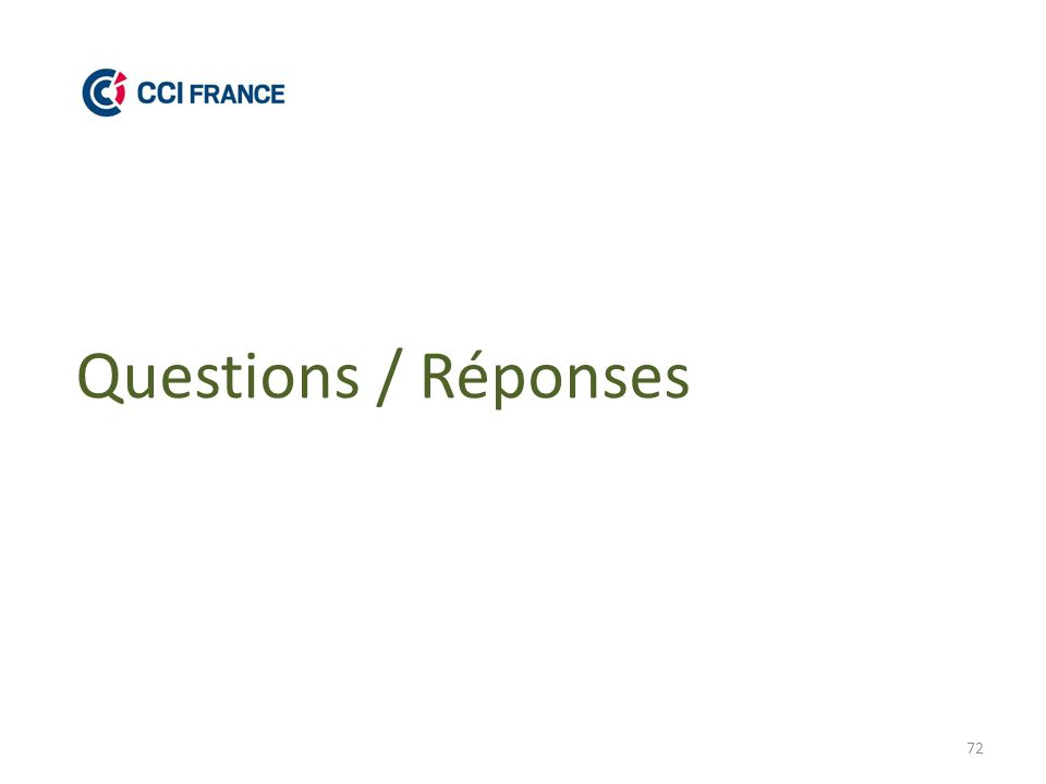 72 Questions / Réponses