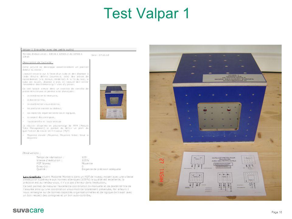 Page 16 Test Valpar 1
