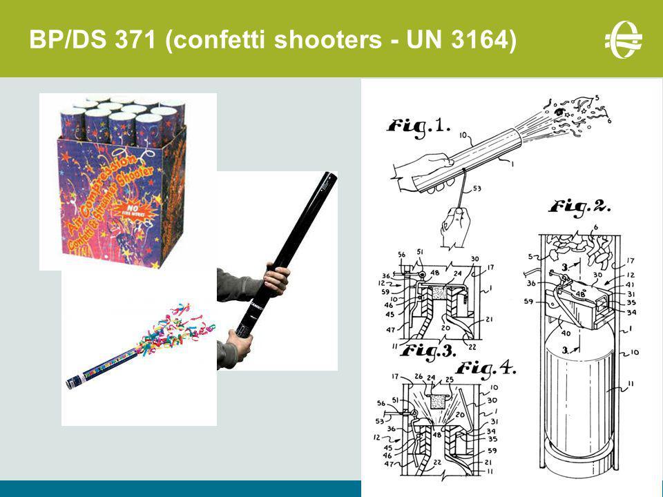 33 BP/DS 371 (confetti shooters - UN 3164)