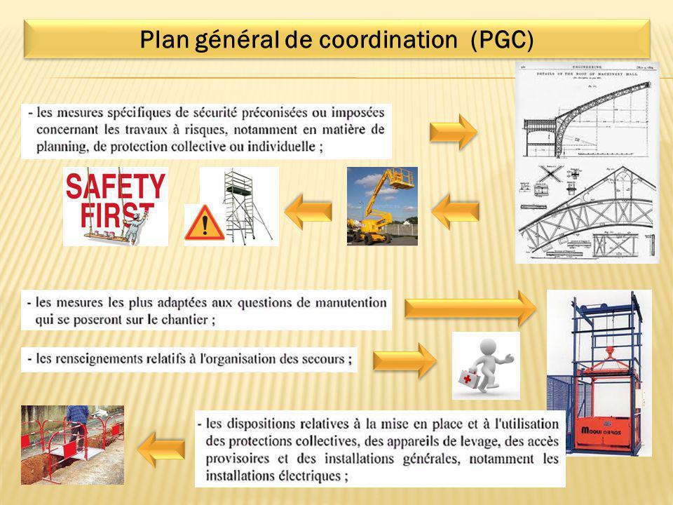 Plan général de coordination (PGC)