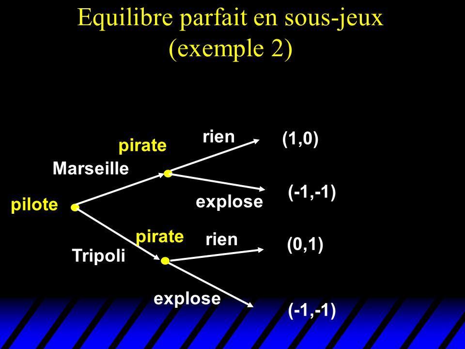Marseille Tripoli pilote pirate rien explose (0,1) (-1,-1) (1,0) rien explose pirate (-1,-1)