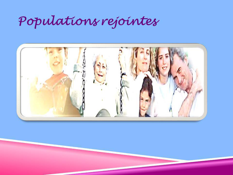 Populations rejointes