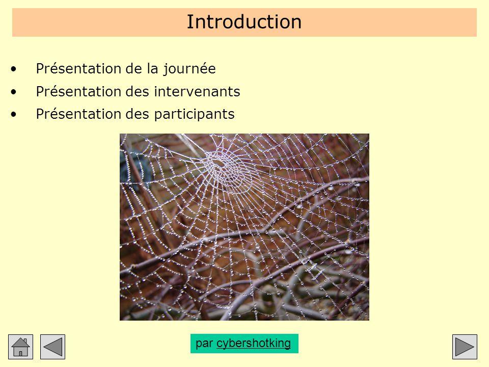 Introduction Présentation de la journée Présentation des intervenants Présentation des participants par cybershotkingcybershotking