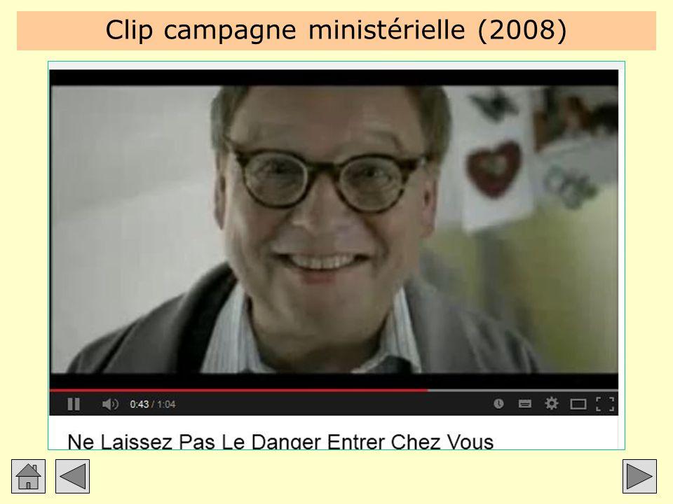 Clip campagne ministérielle (2008)