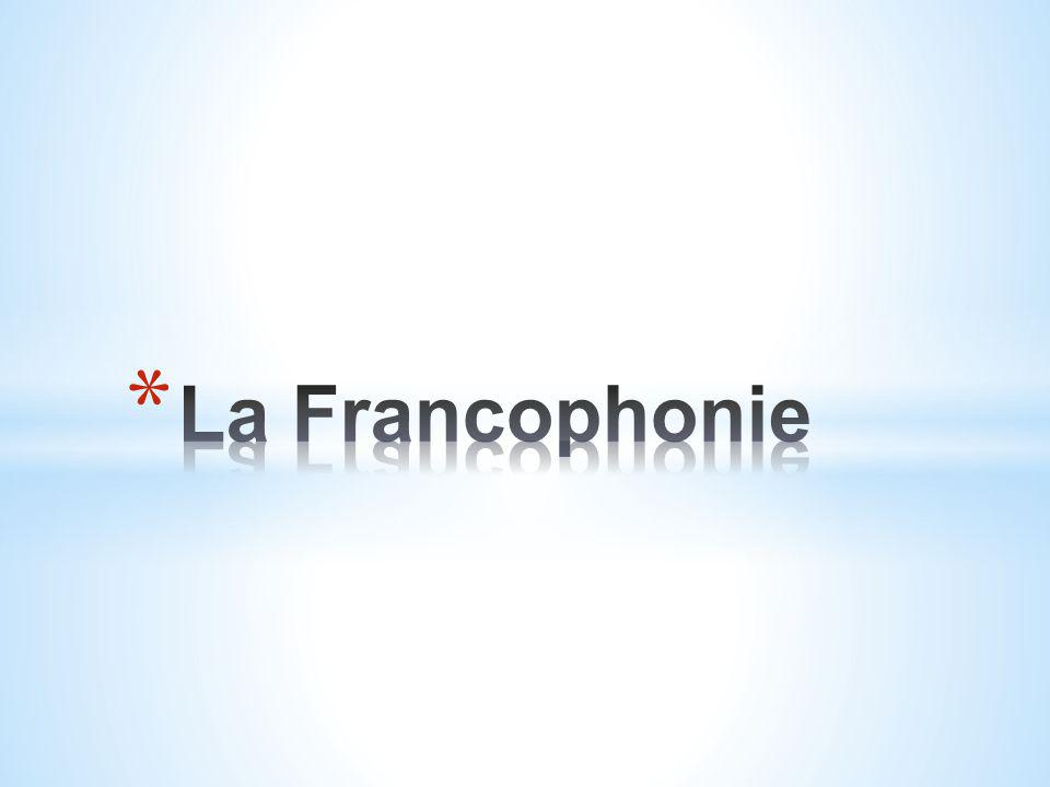 * A quoi pensez-vous quand vous entendez le mot français ?