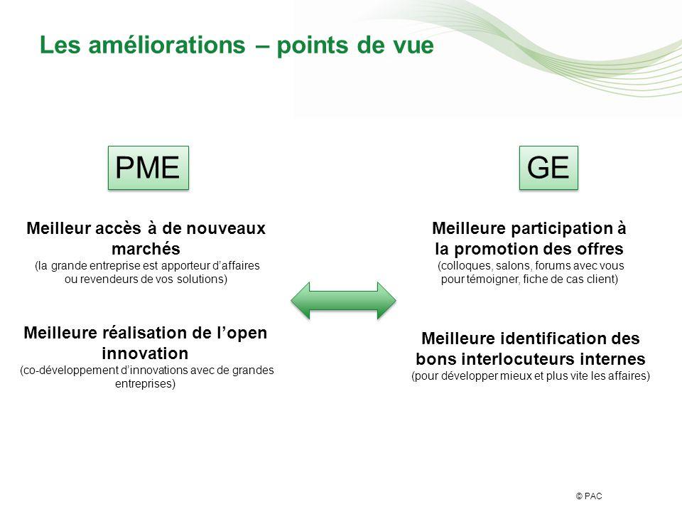 © PAC Facteurs positifs / négatifs
