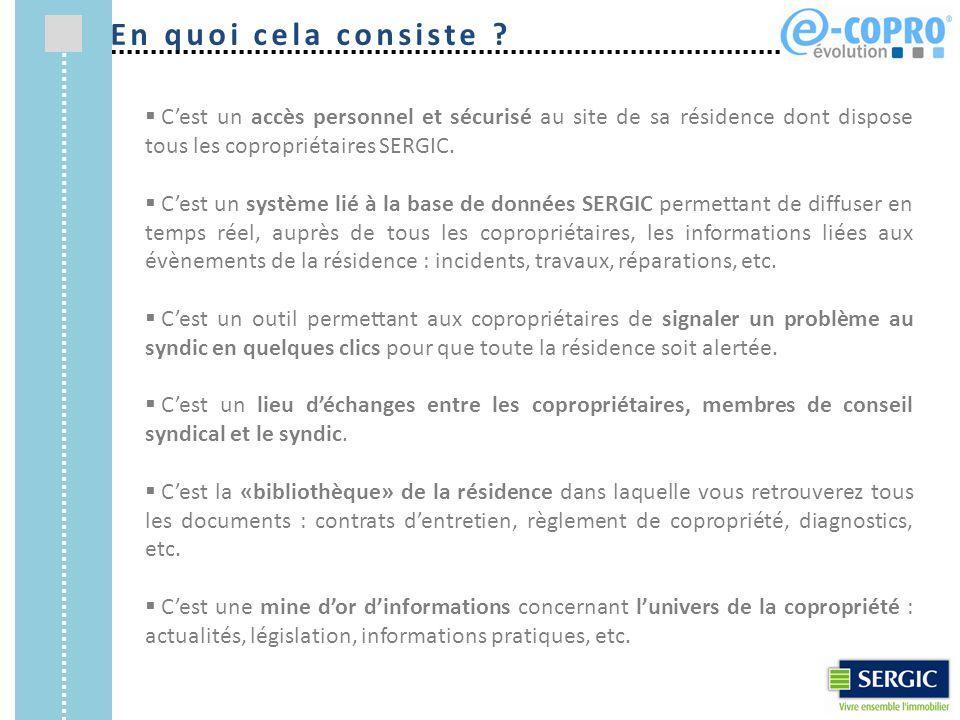 1) Il suffit de se rendre sur www.ecopro-sergic.com et de cliquer sur « Activer votre compte ».www.ecopro-sergic.com Accès au formulaire d'activation en ligne Comment activer son compte ?
