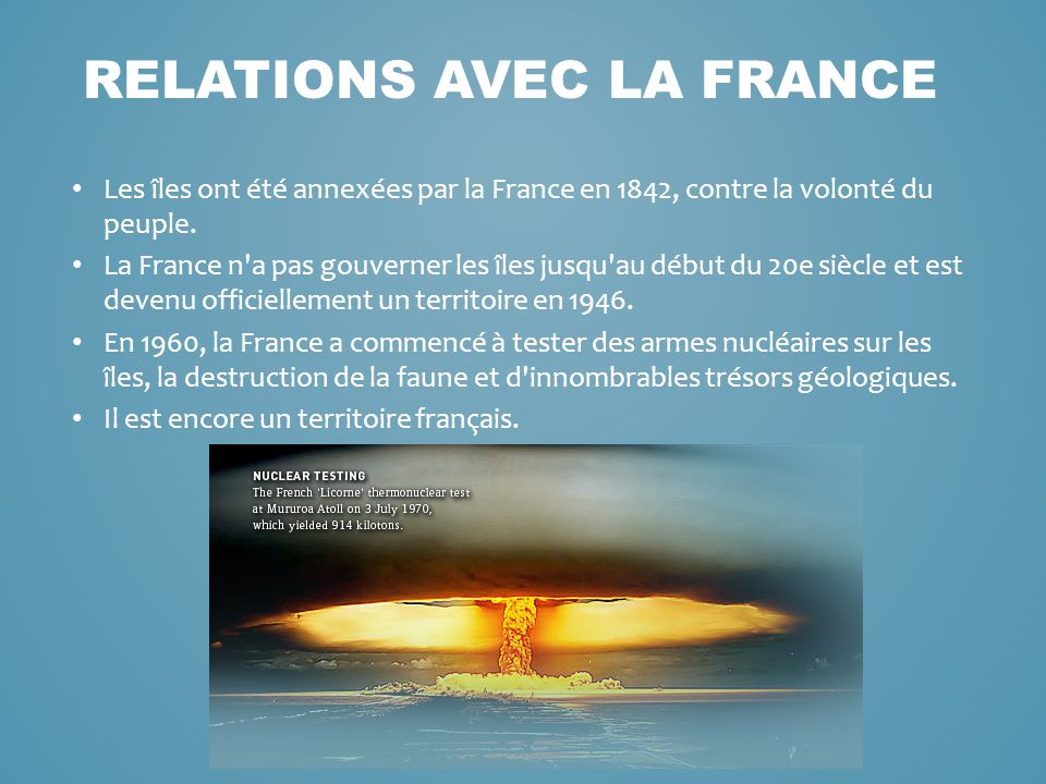 Les troupes françaises ont été forcés de servir de cobayes pour les effets de la radiation des plages polynésiennes.