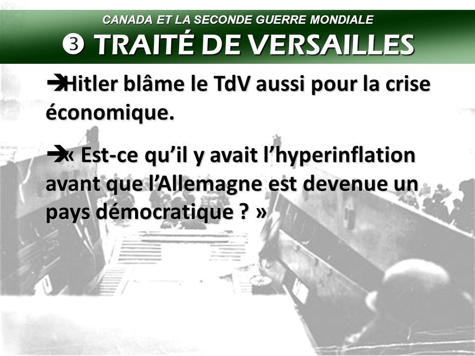  Hitler continue a gagner plus de pouvoir en Allemagne, en partie car il dénonce le TdV.