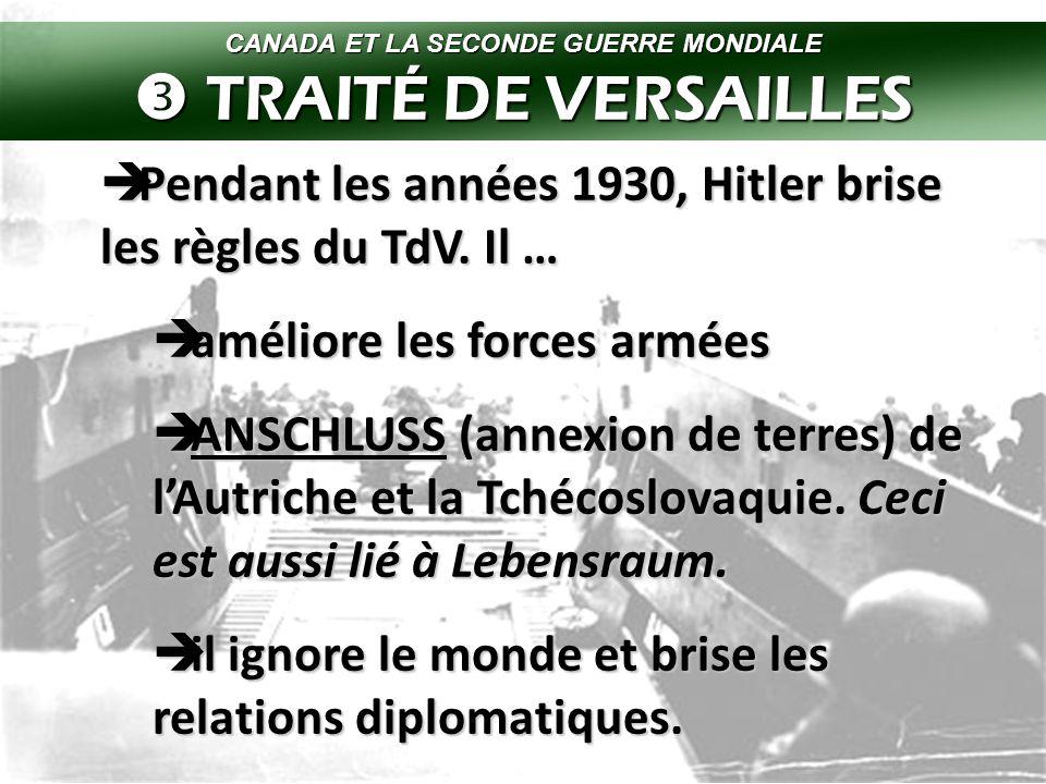  Hitler blâme le TdV aussi pour la crise économique.