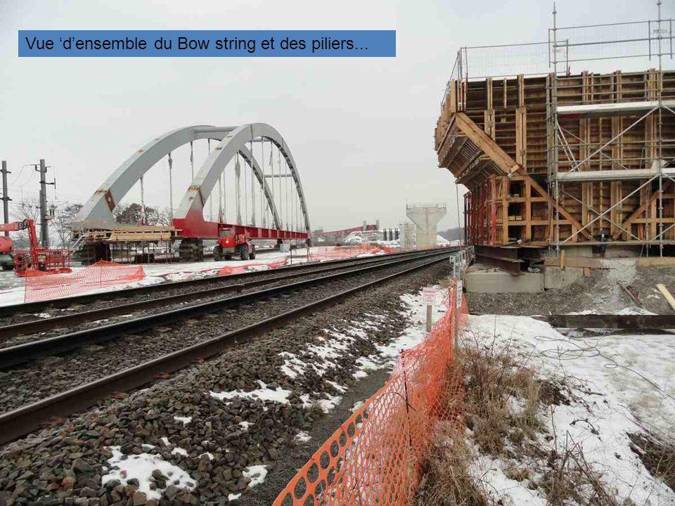 Une partie du pont qui formera un viaduc !