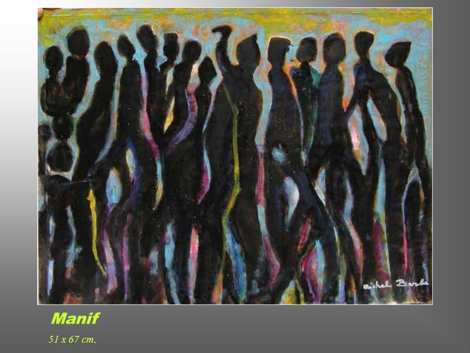 Femmes 50 x 62 cm.