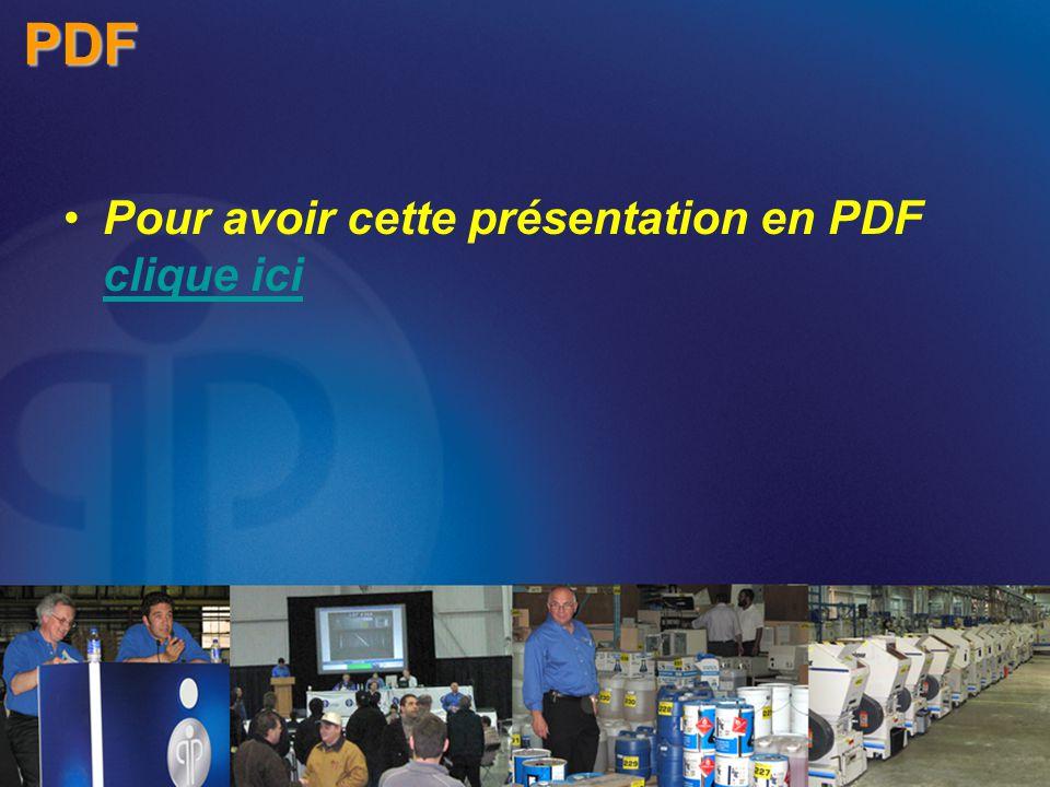 Pour avoir cette présentation en PDF clique ici clique iciPDF