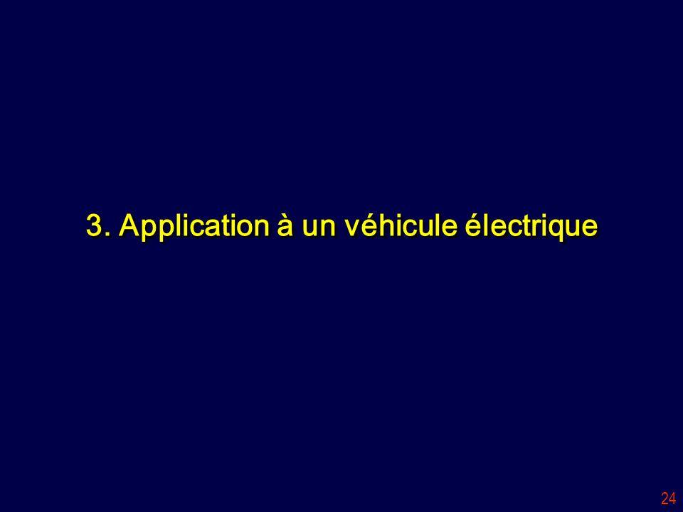 24 3. Application à un véhicule électrique