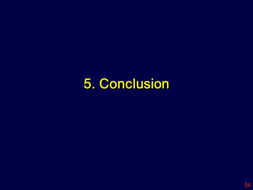 54 5. Conclusion
