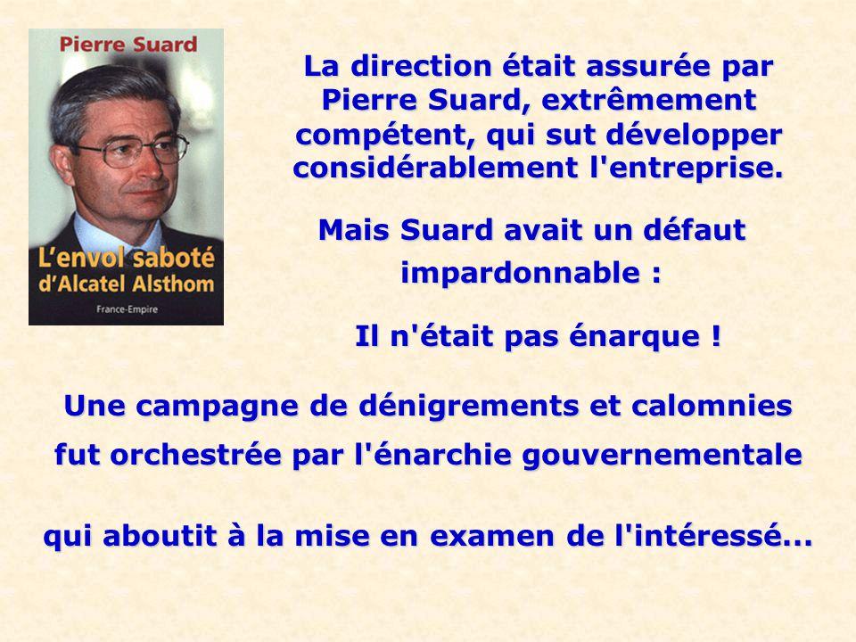 ALSTOM Alstom (ex Alsthom), 120000 salariés, était un fleuron de l industrie française.