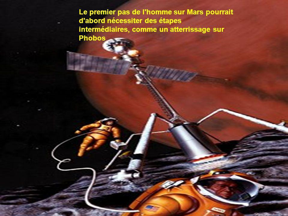 Une autre vision d une base de type Mars Direct.