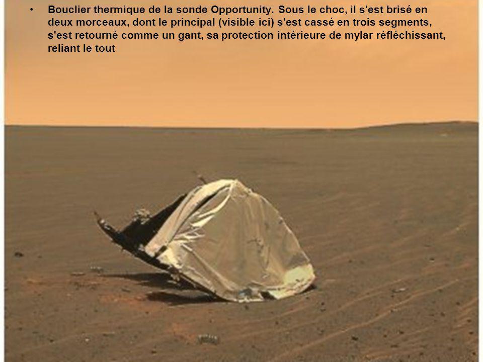 Sur Chryse Planitia tôt le matin.