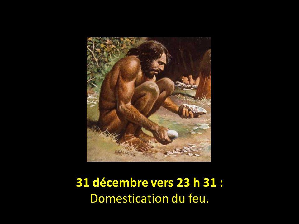 31 décembre vers 21 h