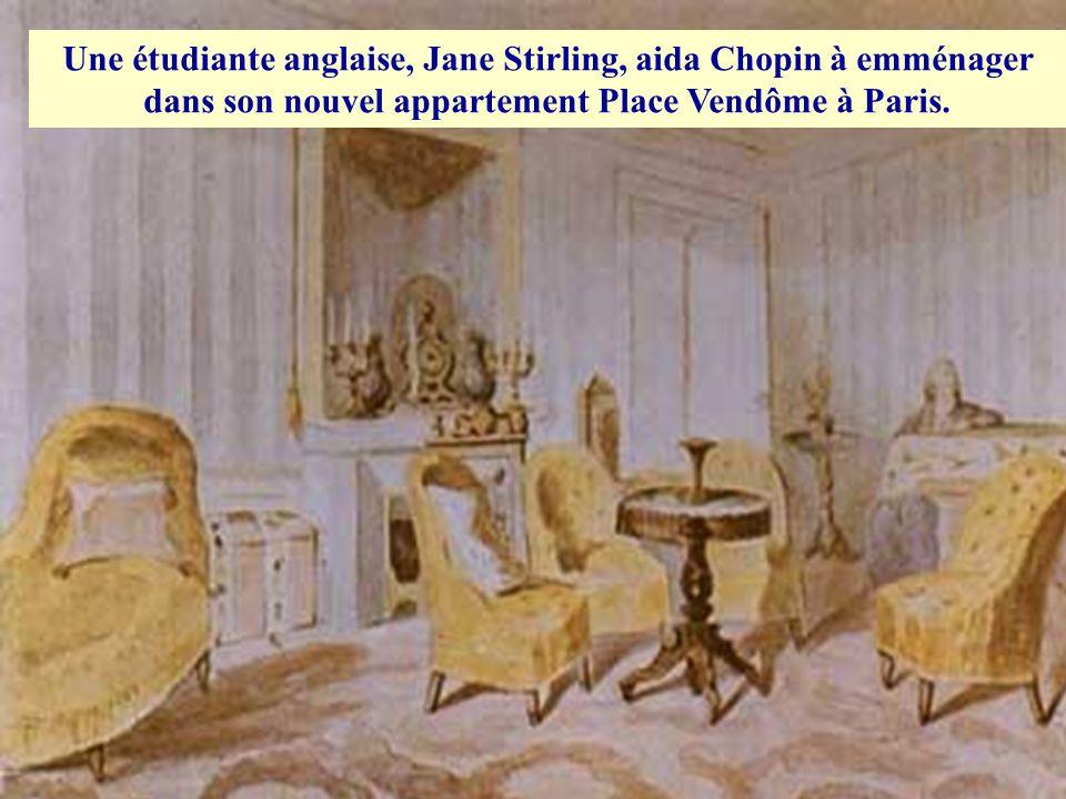 En 1845, la relation entre Chopin et Aurore connut de sérieux problèmes ce qui provoqua une détérioration de sa santé déjà fragile. Ces problèmes ont
