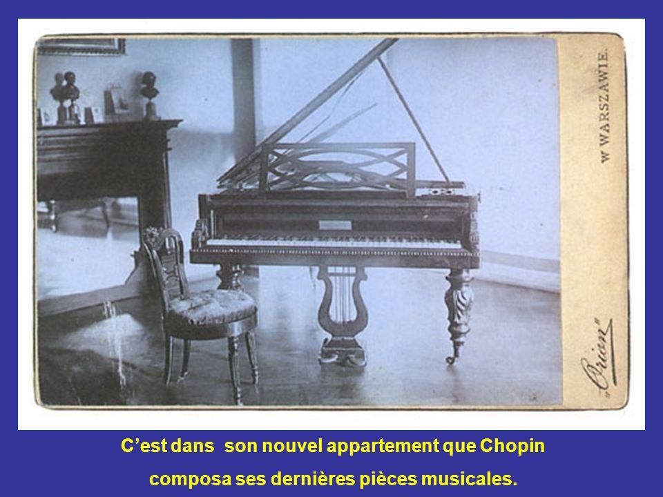 Une étudiante anglaise, Jane Stirling, aida Chopin à emménager dans son nouvel appartement Place Vendôme à Paris.
